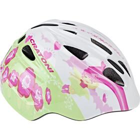 Cratoni Akino Helmet Kinder fay white-pink glossy